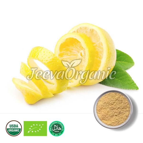 Lemon Peel Powder (Organic)